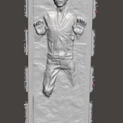 Télécharger fichier imprimante 3D Han dans la carbonite, Hendrik67
