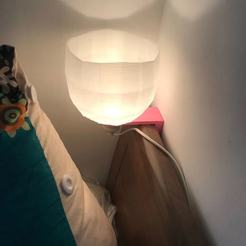 Download free STL bed lamp, gjeiry
