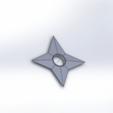 Télécharger fichier STL gratuit shuriken de Naruto • Plan à imprimer en 3D, vinvin27