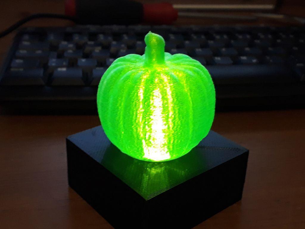 20191006_192927.jpg Download free STL file Pumpkin Lamp • 3D printer design, sui77