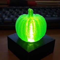 20191006_192927.jpg Download free STL file Pumpkin Lamp • 3D printer design, sui77