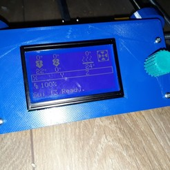 Download free STL Reprap Discount Display Knob, sui77