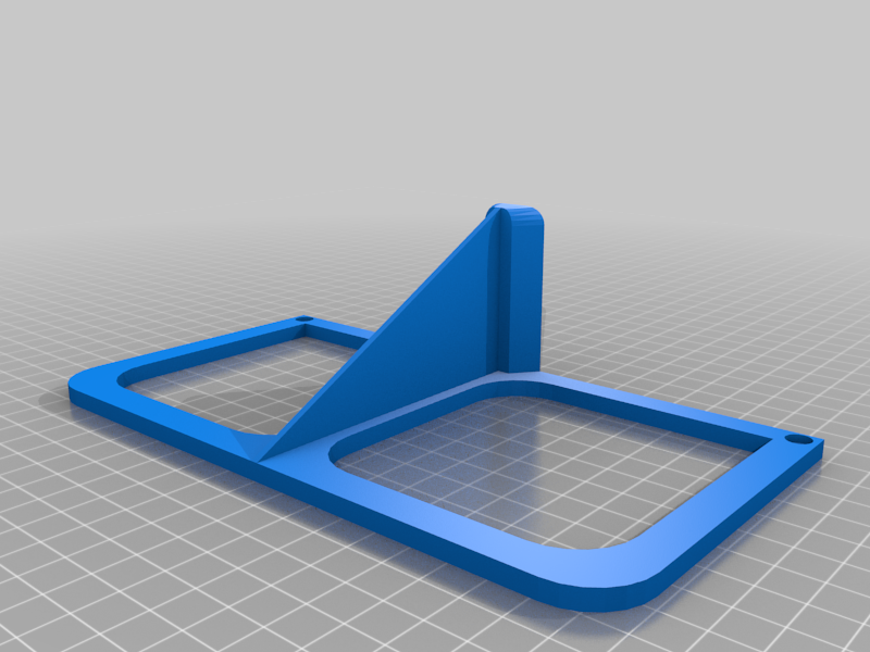 X240NotebookStand.png Download free STL file Steep Notebook Stand 30° • 3D printing object, sui77