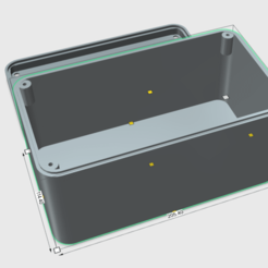 Box Size.png Download STL file Battery box for all types of use • 3D printable model, MosDesign
