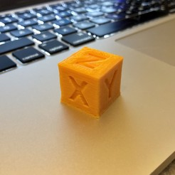 Download free 3D printer designs LD 20mm Calibration Cube, sweeets