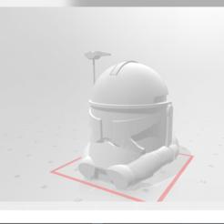 Télécharger fichier imprimante 3D Casque de Capitaine Rex(swtcw), ofo03