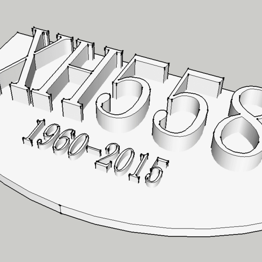 Télécharger plan imprimante 3D gatuit XH558 Plaque de bombardier vulcain, robC