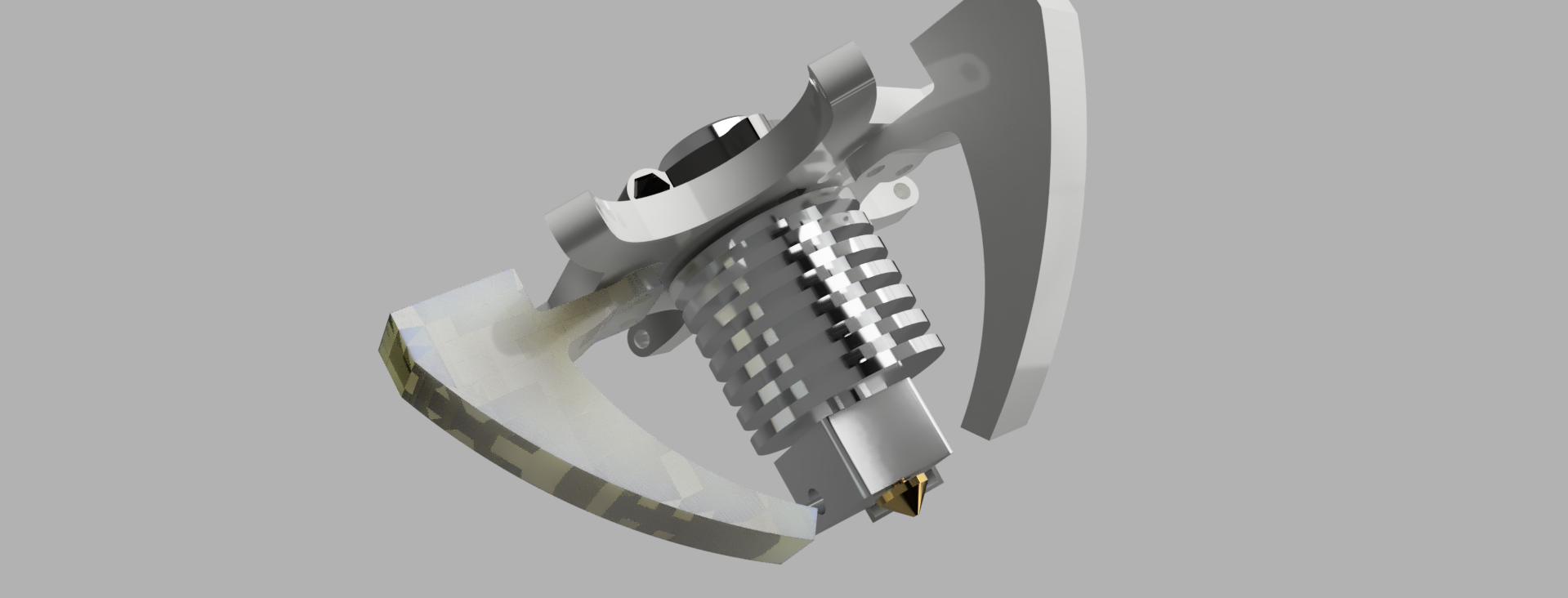 Effectorv1_2020-Jan-16_09-04-26PM-000_CustomizedView14913009118.png Download free STL file e3d V6 Kossel Rostock Delta effector • Template to 3D print, robC