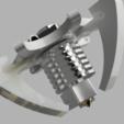 Download free 3D print files e3d V6 Kossel Rostock Delta effector, robC