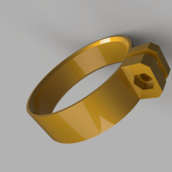 Download free 3D printing templates 60mm hose clamp, robC