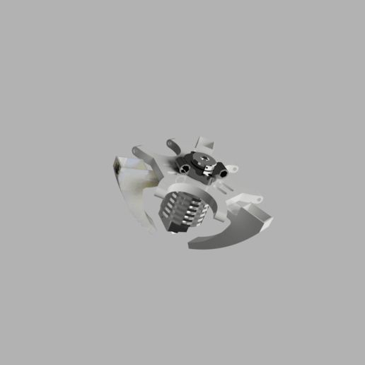 Effectorv1_2020-Jan-16_09-15-23PM-000_CustomizedView10527871443.png Download free STL file e3d V6 Kossel Rostock Delta effector • Template to 3D print, robC