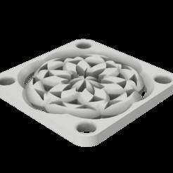 Télécharger plan imprimante 3D gatuit Couvercle du ventilateur 40/60/80, robC