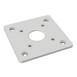 Download free 3D printing files Nema 17 mounting plate, robC