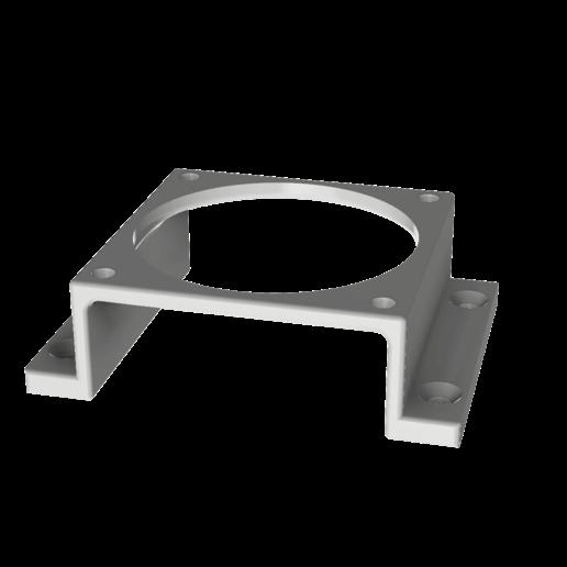 Download free 3D model 60mm fan mounting bracket, robC