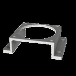 Untitled.png Télécharger fichier STL gratuit Support de montage pour ventilateur de 60 mm • Modèle à imprimer en 3D, robC