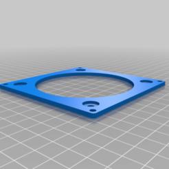 NoctuaAdaptor.png Télécharger fichier STL gratuit Plaque d'adaptation Noctua 80mm • Design pour impression 3D, robC