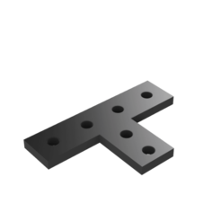 Download free 3D printer designs 20x20 extrusion bracket, robC