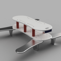 Quadv2_v1_2016-Jun-09_08-05-19PM-000_CustomizedView5313306626.png Download free STL file Racing Quadcopter V2 • Model to 3D print, robC