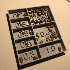 IMG_7931.JPG Download STL file Nozzle Box • 3D printer template, Baptou
