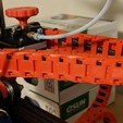Download free 3D printer designs Cable chain with limiter (surfaces fixed), durham777