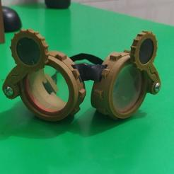 Download free 3D printer designs Jaa's Steampunk Glasses v 1.0, Jaa