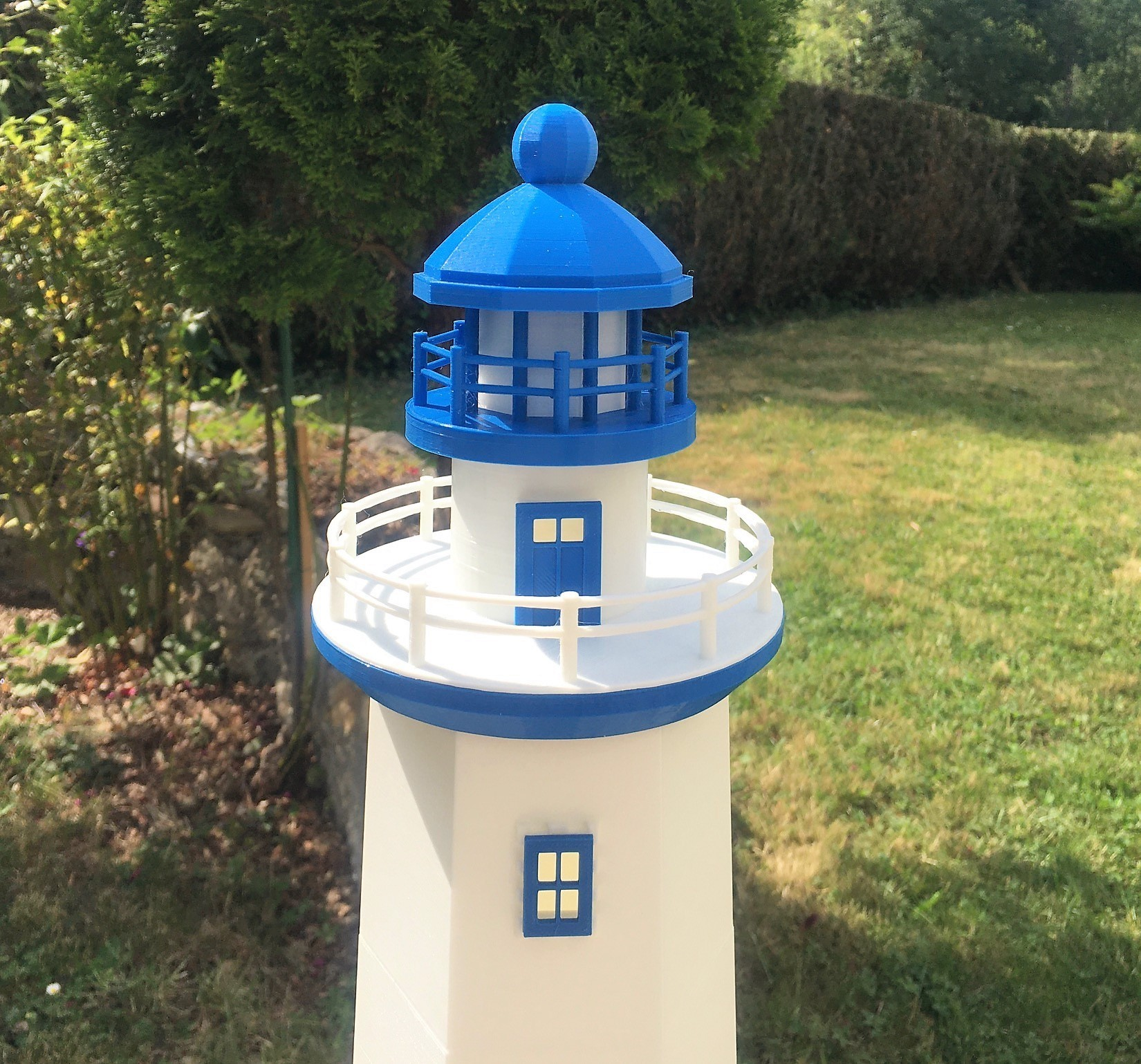 Phare1.jpg Download free STL file Lighthouse • 3D printing template, jteix