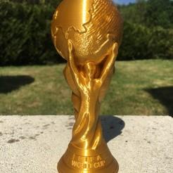 Descargar archivos STL gratis La Copa Mundial de la Fifa, jteix