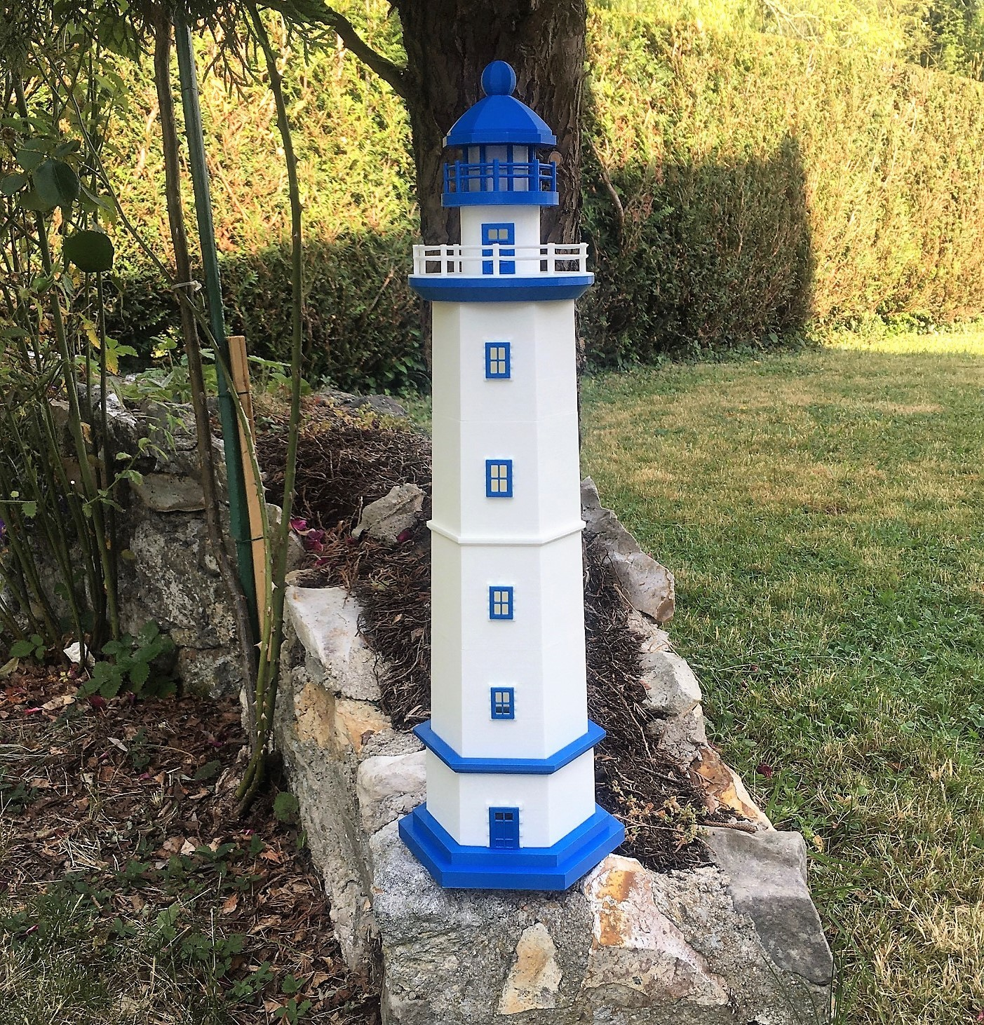 Phare.jpg Download free STL file Lighthouse • 3D printing template, jteix