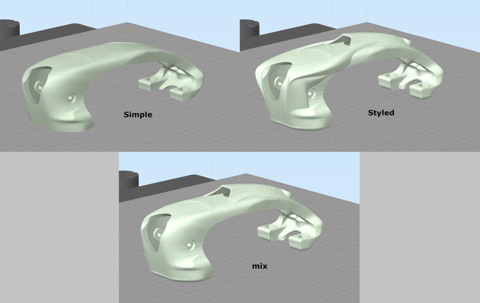 Canopys.png Télécharger fichier STL gratuit Cadre du quadriporteur Exorcist Racing (nouveau modèle) • Design pour impression 3D, DuckyRC