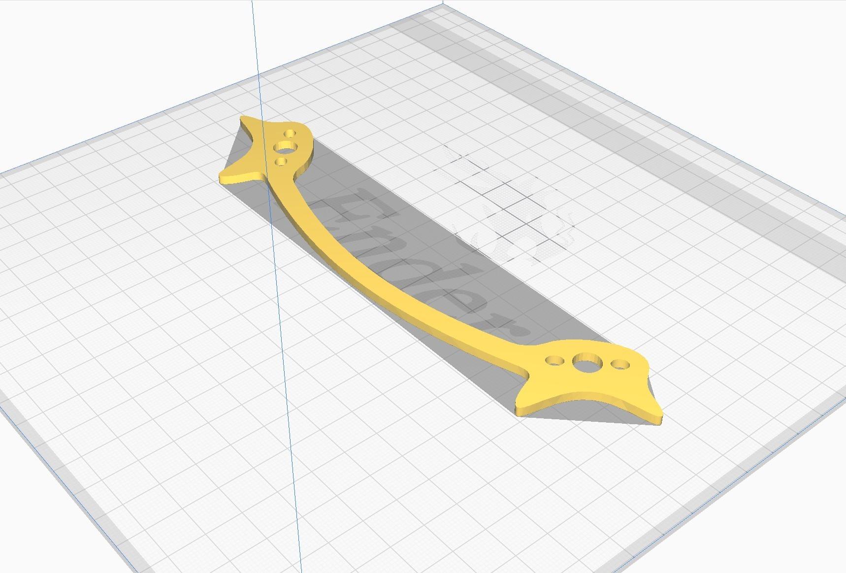 90712213_10161121056287355_6378855668190806016_o.jpg Télécharger fichier STL gratuit Cadre du quadriporteur Exorcist Racing (nouveau modèle) • Design pour impression 3D, DuckyRC