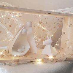 128628501_411457039890232_1208158599015732868_n.jpg Télécharger fichier STL Crèche de Noël   • Modèle pour impression 3D, ZuCoMaXx