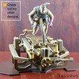 A0_Ad.jpg Download free STL file VENOM SNAKE BUST • 3D printer model, Soludus