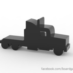 bigtruck.jpg Download free STL file Truck meeple / token for Board Games • 3D print design, boardgameset