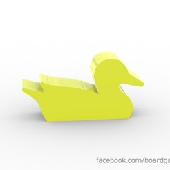duck.jpg Download free STL file Duck Meeple for Board Games • 3D printing design, boardgameset