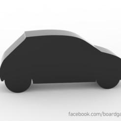 Descargar archivo 3D gratis Car Meeple Token para juegos de mesa, boardgameset
