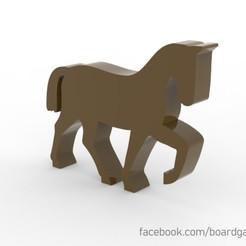 Descargar archivo 3D gratis Horse Meeple para juegos de mesa, boardgameset