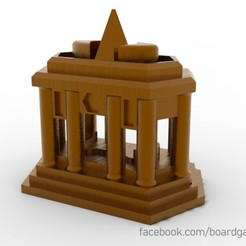 sanctuary.jpg Download free STL file Terra Mystica Sanctuary • 3D printable object, boardgameset