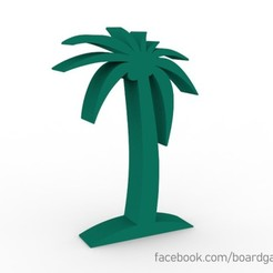 palm.jpg Download STL file Palm Tree Meeple Token for Board Games • 3D printing design, boardgameset