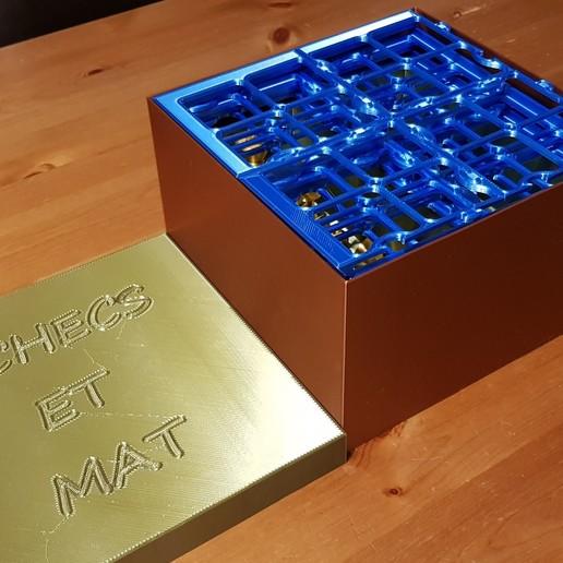 20200201_185436.jpg Télécharger fichier STL gratuit boite de rangement jeux d'échecs • Design imprimable en 3D, 27si3d