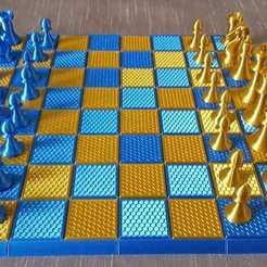Télécharger fichier STL gratuit boite de rangement jeux d'échecs • Design imprimable en 3D, 27si3d