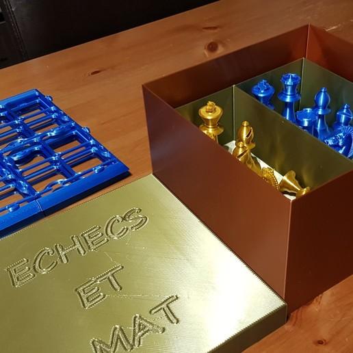 20200201_185444.jpg Télécharger fichier STL gratuit boite de rangement jeux d'échecs • Design imprimable en 3D, 27si3d