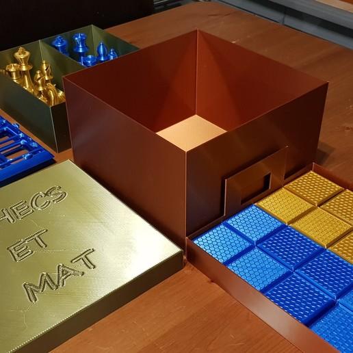 20200201_185512.jpg Télécharger fichier STL gratuit boite de rangement jeux d'échecs • Design imprimable en 3D, 27si3d