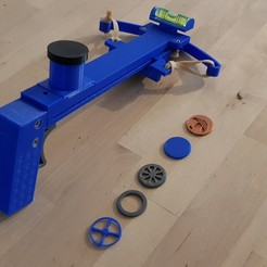 Download 3D printing designs caddy token gun - pistol - token-gun, 27si3d