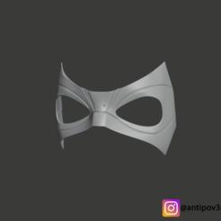 1.png Télécharger fichier STL Masque de l'Académie de parapluie pour l'impression 3D STL/OBJ • Plan imprimable en 3D, Antipov3d