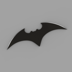 00.png Download STL file Batman 2021 Batarang for 3D print  • 3D printing design, Antipov3d