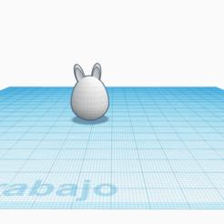 Télécharger fichier STL gratuit huevo con orejas de conejo pascua • Objet à imprimer en 3D, claulopetegui