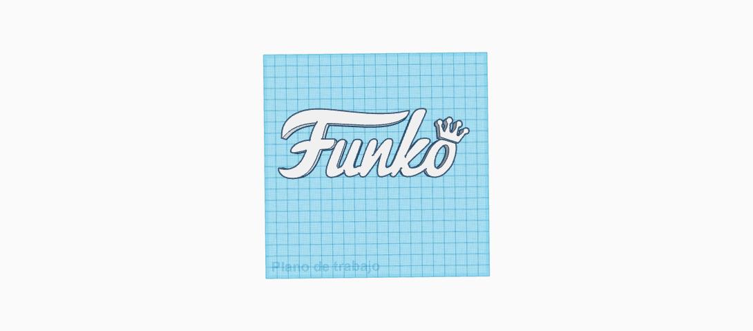 letras de marca _ funko _ letters.png Download free STL file letras de la marca / FUNKO / letters • Design to 3D print, claulopetegui