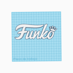 Download free STL file letras de la marca / FUNKO / letters • Design to 3D print, claulopetegui