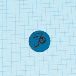 Epic Blorr-Robo.png Download free STL file Tapa de botella tamaño real con logo de seven up • 3D printable design, claulopetegui