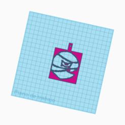 Télécharger fichier STL gratuit llavero tara / bagarre de stars / porte-clés tara • Modèle imprimable en 3D, claulopetegui